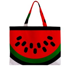 Watermelon Melon Seeds Produce Zipper Mini Tote Bag