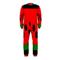 Watermelon Melon Seeds Produce OnePiece Jumpsuit (Kids)
