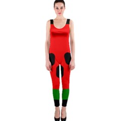 Watermelon Melon Seeds Produce OnePiece Catsuit
