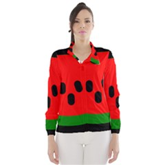 Watermelon Melon Seeds Produce Wind Breaker (Women)