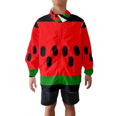 Watermelon Melon Seeds Produce Wind Breaker (Kids)