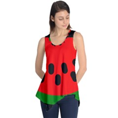 Watermelon Melon Seeds Produce Sleeveless Tunic