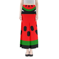 Watermelon Melon Seeds Produce Maxi Skirts