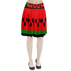 Watermelon Melon Seeds Produce Pleated Skirt