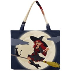 Witch Witchcraft Broomstick Broom Mini Tote Bag