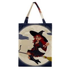 Witch Witchcraft Broomstick Broom Classic Tote Bag