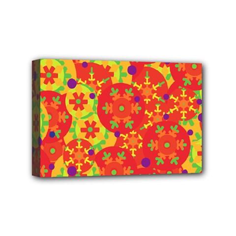 Orange design Mini Canvas 6  x 4