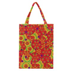 Orange design Classic Tote Bag