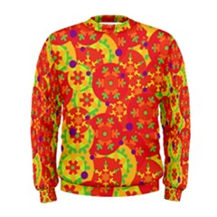 Orange design Men s Sweatshirt