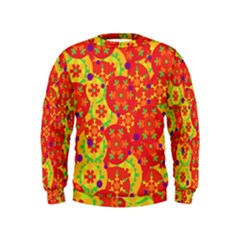 Orange design Kids  Sweatshirt