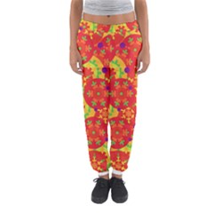 Orange design Women s Jogger Sweatpants