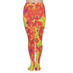 Orange design Women s Tights