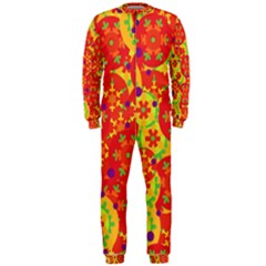 Orange design OnePiece Jumpsuit (Men)