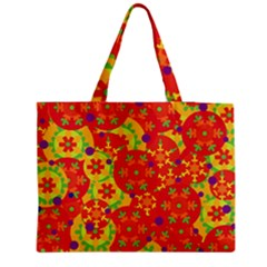 Orange design Medium Tote Bag