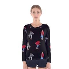 Drake Ugly Holiday Christmas Women s Long Sleeve Tee
