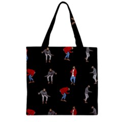 Drake Ugly Holiday Christmas Zipper Grocery Tote Bag