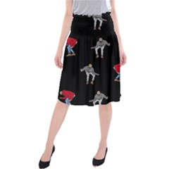 Drake Ugly Holiday Christmas Midi Beach Skirt