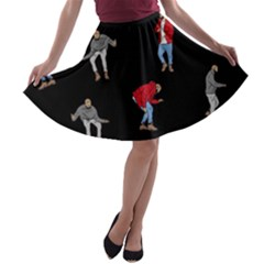 Drake Ugly Holiday Christmas A Line Skater Skirt