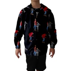 Drake Ugly Holiday Christmas Hooded Wind Breaker (kids)