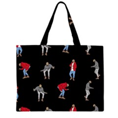 Drake Ugly Holiday Christmas Large Tote Bag