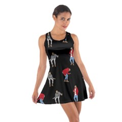 Drake Ugly Holiday Christmas Cotton Racerback Dress