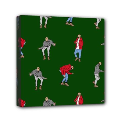 Drake Ugly Holiday Christmas 2 Mini Canvas 6  x 6