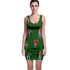 Drake Ugly Holiday Christmas 2 Sleeveless Bodycon Dress