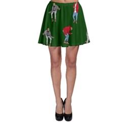 Drake Ugly Holiday Christmas 2 Skater Skirt