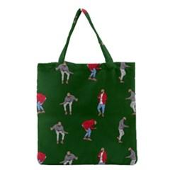 Drake Ugly Holiday Christmas 2 Grocery Tote Bag