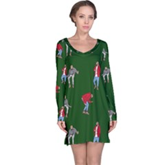 Drake Ugly Holiday Christmas 2 Long Sleeve Nightdress