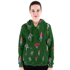 Drake Ugly Holiday Christmas 2 Women s Zipper Hoodie