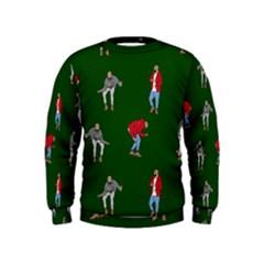 Drake Ugly Holiday Christmas 2 Kids  Sweatshirt