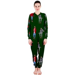 Drake Ugly Holiday Christmas 2 OnePiece Jumpsuit (Ladies)