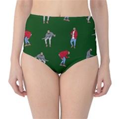 Drake Ugly Holiday Christmas 2 High-Waist Bikini Bottoms