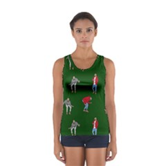 Drake Ugly Holiday Christmas 2 Women s Sport Tank Top