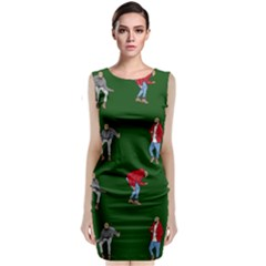 Drake Ugly Holiday Christmas 2 Classic Sleeveless Midi Dress