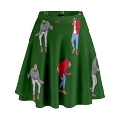 Drake Ugly Holiday Christmas 2 High Waist Skirt