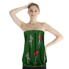 Drake Ugly Holiday Christmas 2 Strapless Top