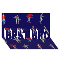 Drake Ugly Holiday Christmas BEST BRO 3D Greeting Card (8x4)