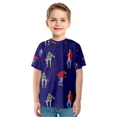 Drake Ugly Holiday Christmas Kids  Sport Mesh Tee