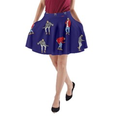 Drake Ugly Holiday Christmas A-Line Pocket Skirt
