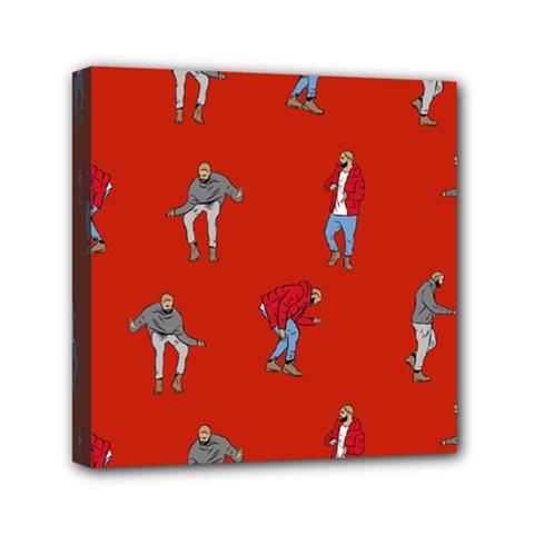 Drake Ugly Holiday Christmas   Mini Canvas 6  x 6