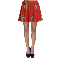 Drake Ugly Holiday Christmas   Skater Skirt