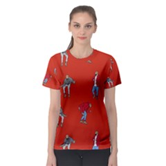 Drake Ugly Holiday Christmas   Women s Sport Mesh Tee