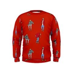 Drake Ugly Holiday Christmas   Kids  Sweatshirt