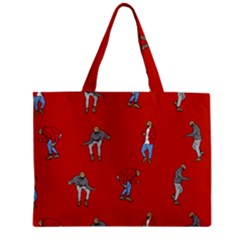 Drake Ugly Holiday Christmas   Zipper Mini Tote Bag