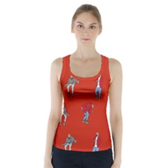 Drake Ugly Holiday Christmas   Racer Back Sports Top