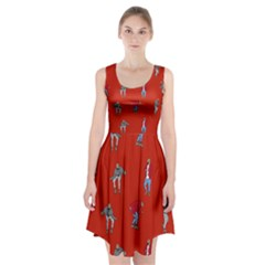 Drake Ugly Holiday Christmas   Racerback Midi Dress