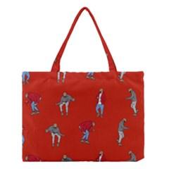 Drake Ugly Holiday Christmas   Medium Tote Bag