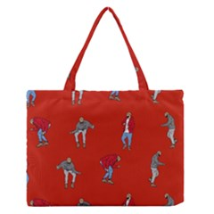 Drake Ugly Holiday Christmas   Medium Zipper Tote Bag